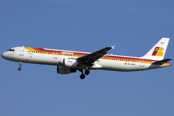 EC-HUH A321-212 1021 Iberia Líneas Aéreas de España @ Venezia Airport 14.08.2014 © Piti Spotter Club Verona