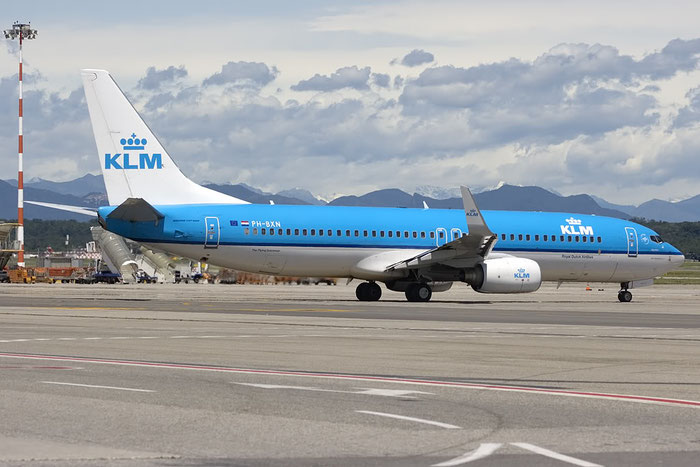 PH-BXN B737-8K2 30356/728 KLM Royal Dutch Airlines @ Milano Malpensa Airport - 07.2009  © Piti Spotter Club Verona