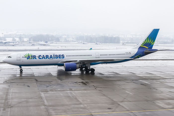 F-ORLY A330-323E 758 Air Caraibes @ Zurich Airport 19.01.2016 © Piti Spotter Club Verona