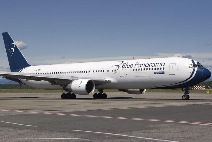 EI-CZH B767-3G5ER 29435/720 Blue Panorama Airlines @ Milano Malpensa Airport 07.2009 © Piti Spotter Club Verona