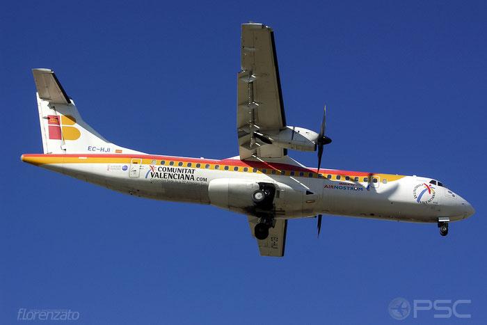 EC-HJI ATR72-212A 562 Iberia Regional @ Malaga Airport 2006 © Piti Spotter Club Verona