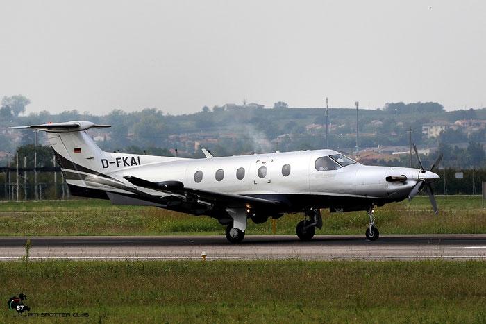 D-FKAI PC-12/47E 1250 - @ Aeroporto di Verona - 01/10/2016 © Piti Spotter Club Verona
