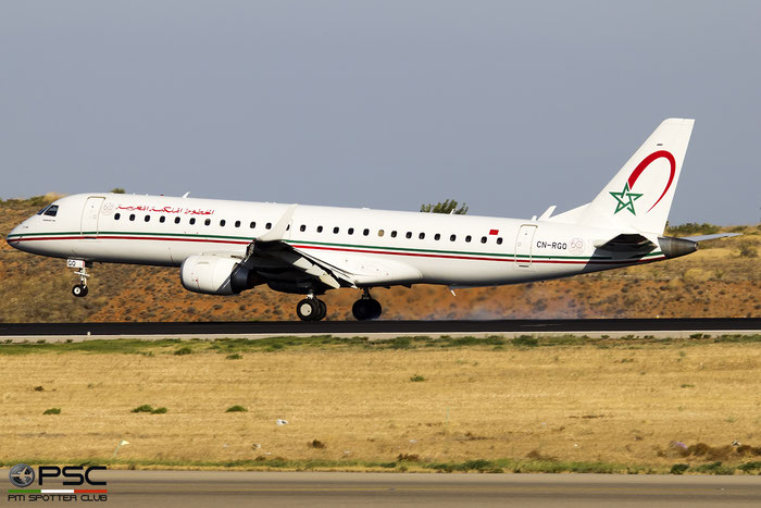 CN-RGQ  ERJ190AR  19000682  Royal Air Maroc  @ Athens 09.2019 © Piti Spotter Club Verona