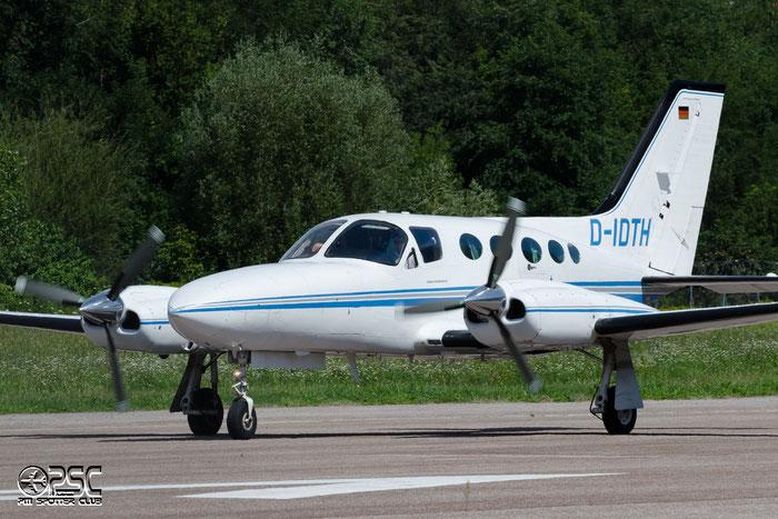 D-IDTH - Private - Cessna 421 @ Aeroporto di Bolzano © Piti Spotter Club Verona