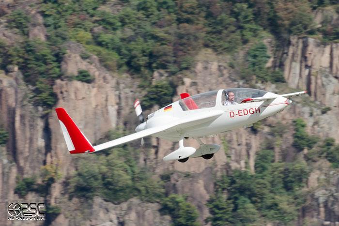 D-EDGH - Private - Gyroflug SC01 Speed-Canard @ Aeroporto di Bolzano © Piti Spotter Club Verona