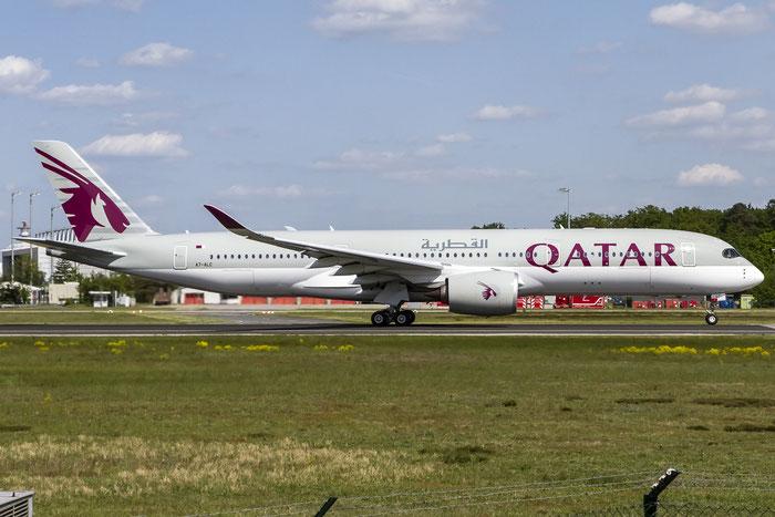 A7-ALC A350-941 9 Qatar Airways @ Frankfurt Airport 08.05.2015  © Piti Spotter Club Verona