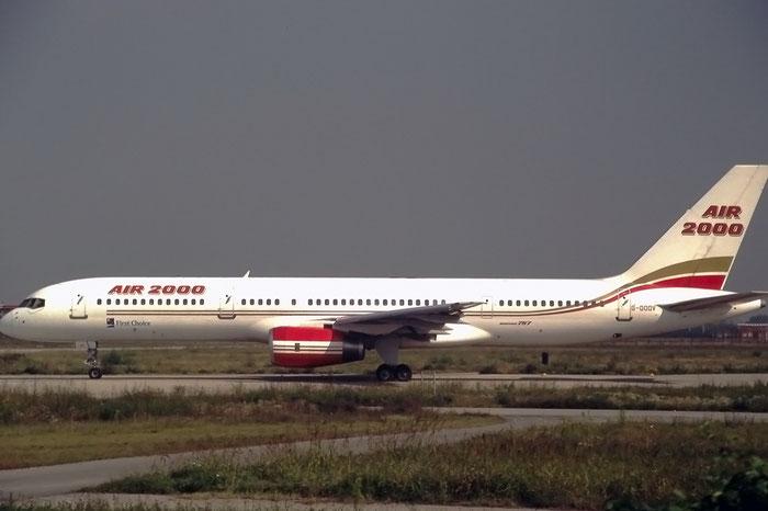 G-OOOV  B757-225  22211/74  Air 2000  @ Aeroporto di Verona © Piti Spotter Club Verona