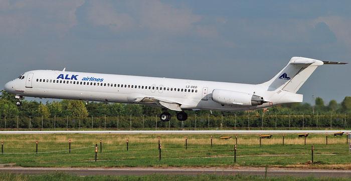 LZ-DEO MD-82 49552/1597 Air Lubo - ALK Airlines @ Aeroporto di Verona 03.09.2018  © Piti Spotter Club Verona