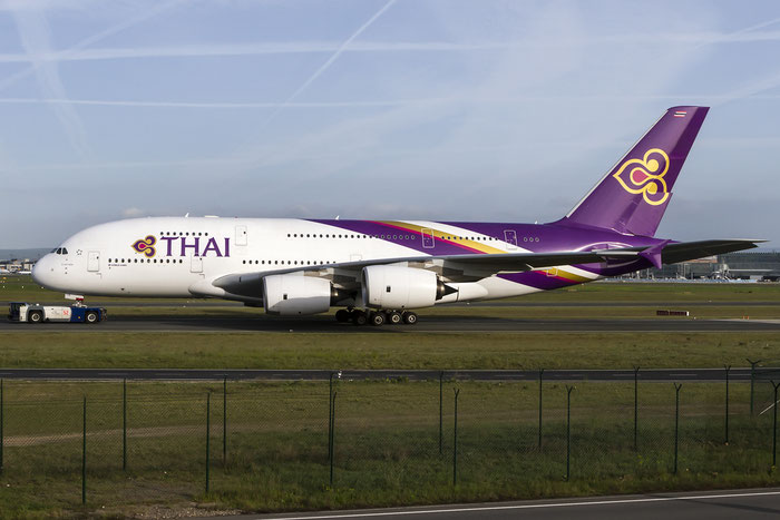 HS-TUA A380-841 87 Thai Airways International @ Frankfurt Airport08.05.2015 © Piti Spotter Club Verona