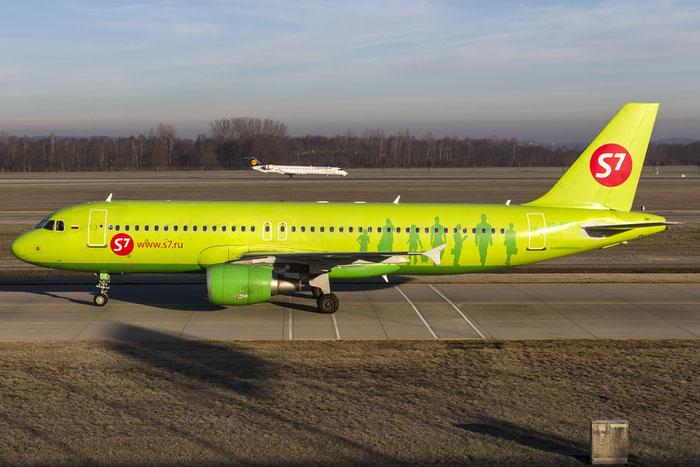 VQ-BDE A320-214 3866 S7 Airlines @ Munich Airport 28.12.2015 © Piti Spotter Club Verona