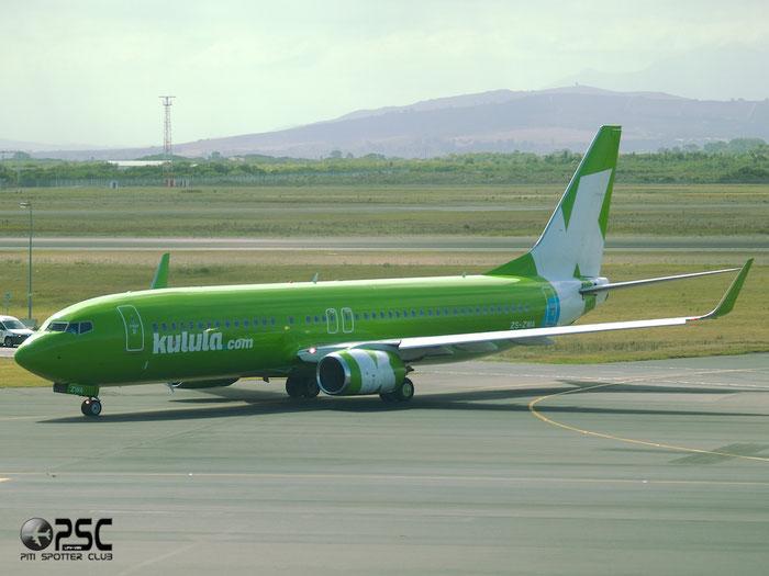 ZS-ZWA B737-8LD 40851/4094 Kulula Air @ Cape Town Airport 22.03.2014 © Piti Spotter Club Verona