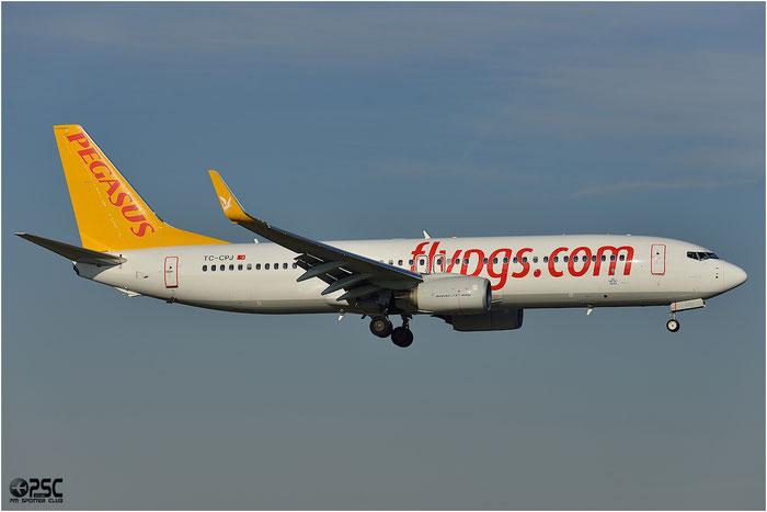 TC-CPJ B737-82R 40881/4513 Pegasus Airlines @ Bologna Airport 06.12.2013 © Piti Spotter Club Verona