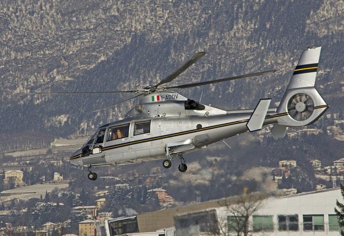 I-ADDV - Eurocopter AS-365N-3 Dauphin 2 - Private @ Aeroporto di Trento © Piti Spotter Club Verona