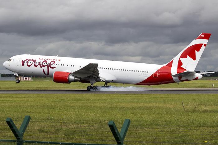 C-GHLA B767-35HER 26387/445 Air Canada rouge @ Dublin Airport 14.08.2016 © Piti Spotter Club Verona