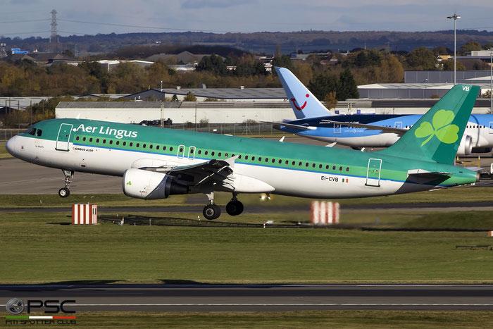 EI-CVB A320-214 1394 Aer Lingus @ Birmingham Airport 11.2017 © Piti Spotter Club Verona