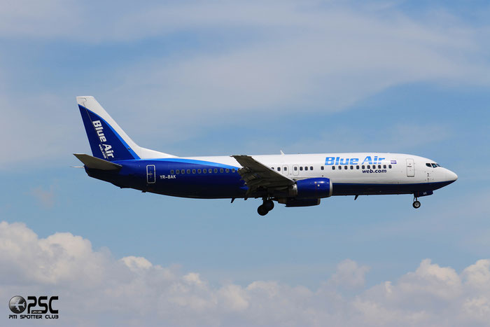 YR-BAK B737-430 27005/2359 Blue Air @ Bologna Airport 04.05.2014 © Piti Spotter Club Verona