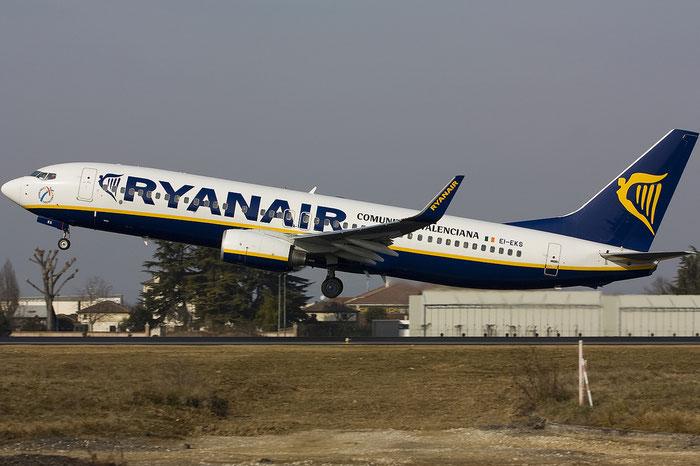 EI-EKS B737-8AS 38504/3203 Ryanair @ Treviso Airport 29.01.2012 © Piti Spotter Club Verona