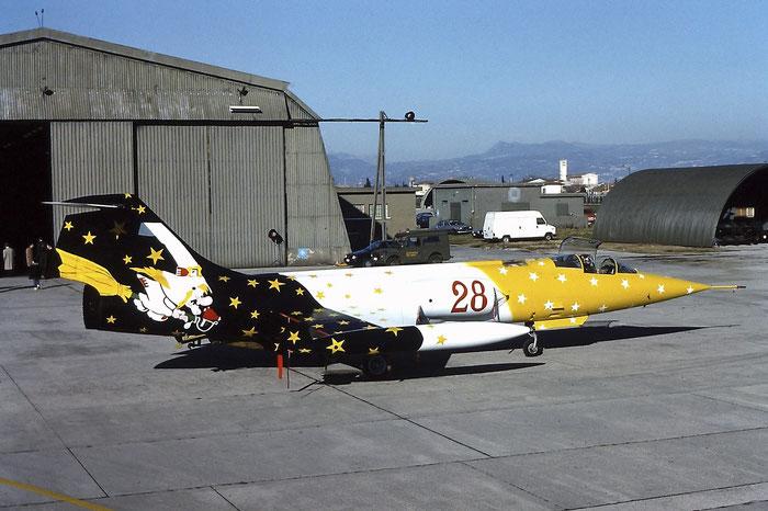 MM6579  28  F-104G  6579 @ Aeroporto di Verona © Piti Spotter Club Verona