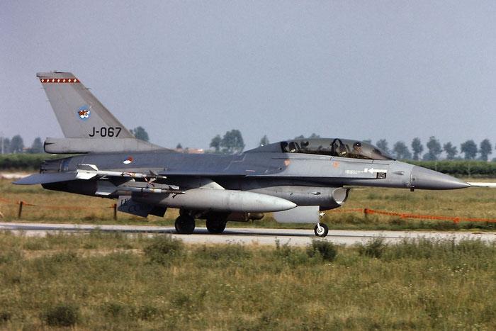J-067  AZ  F-16BM  6E-36  148th FS @ Aeroporto di Verona   © Piti Spotter Club Verona