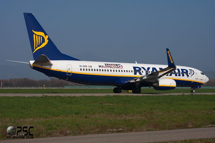 EI-EPD B737-8AS 40310/3578 Ryanair @ Bergamo Airport 08.03.2014 © Piti Spotter Club Verona