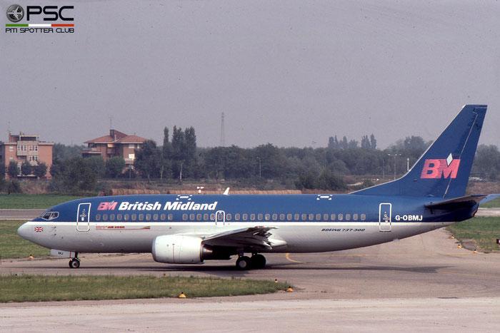 G-OBMJ B737-33A 24461/1833 BMA - British Midland Airways © 2018 courtesy of Marco Ceschi - Piti Spotter Club Verona