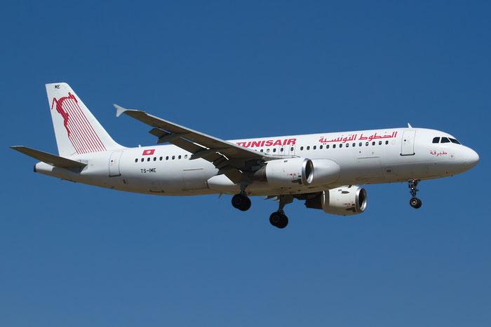 TS-IME A320-211 123 Tunisair @ Bologna Airport 06.09.2013 © Piti Spotter Club Verona