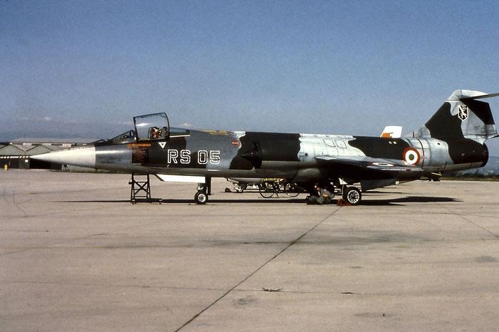 MM6876  RS-05 F-104S-ASA-M  1176 @ Aeroporto di Verona   © Piti Spotter Club Verona