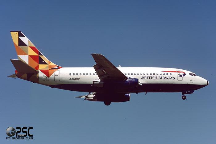 G-BGDE  B737-236  21794/643  British Airways  @ Aeroporto di Verona © Piti Spotter Club Verona