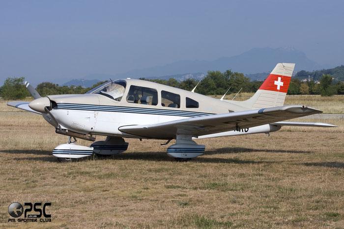 HB-PKG Piper PA-28-181 Archer 3 P28A @ Aeroporto Verona Boscomantico © Piti Spotter Club Verona