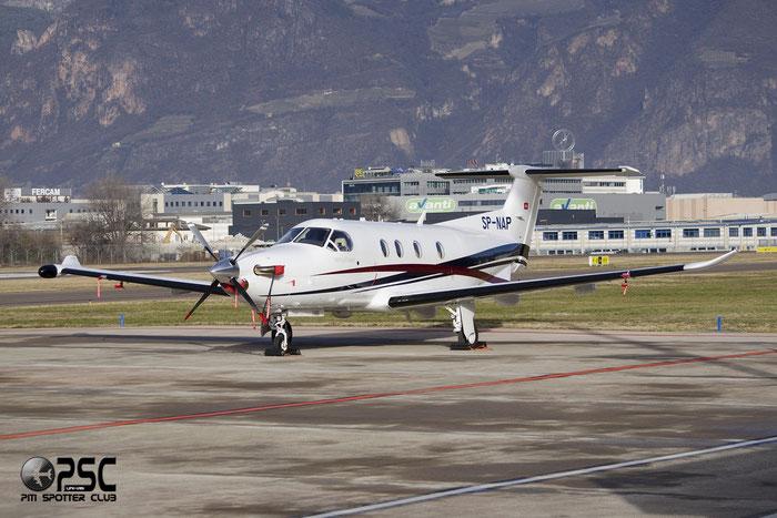 SP-NAP PC-12/47E 1486 @ Aeroporto di Bolzano © Piti Spotter Club Verona