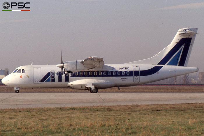 I-ATRC ATR42-300 021 ATI - Aero Transporti Italiani © 2018 courtesy of Marco Ceschi - Piti Spotter Club Verona
