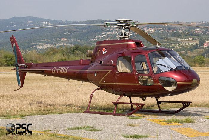 G-FIBS Aerospatiale AS-350B AS50 @ Aeroporto Verona Boscomantico © Piti Spotter Club Verona