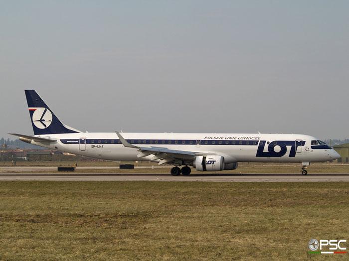 SP-LNA ERJ195LR 19000415 LOT Polish Airlines - Polskie Linie Lotnicze @ Aeroporto di Verona 2007  © Piti Spotter Club Verona