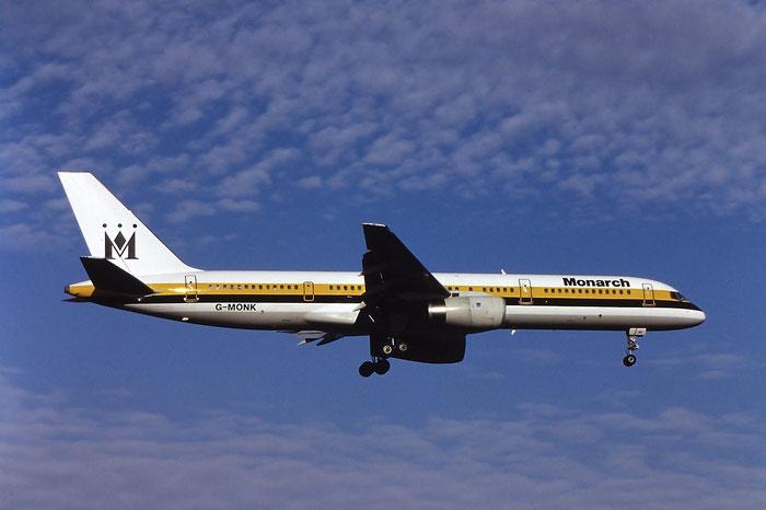 G-MONK  B757-2T7ER  24105/172  Monarch Airlines  @ Aeroporto di Verona © Piti Spotter Club Verona