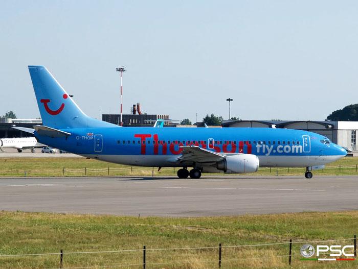 G-THOP B737-3U3 28740/3003 Thomsonfly @ Aeroporto di Verona 07.07.2007  © Piti Spotter Club Verona