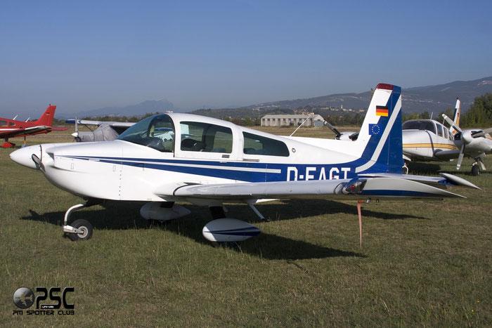 D-EAGT American General AG-5B Tiger AA5 AG5-10131 @ Aeroporto Verona Boscomantico © Piti Spotter Club Verona