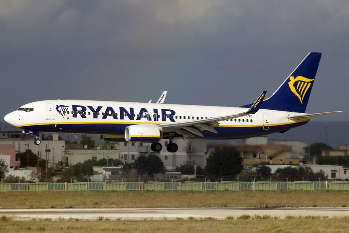 EI-FRD B737-8AS 44738/5847 Ryanair @ Bari Airport 10.11.2016 © Piti Spotter Club Verona