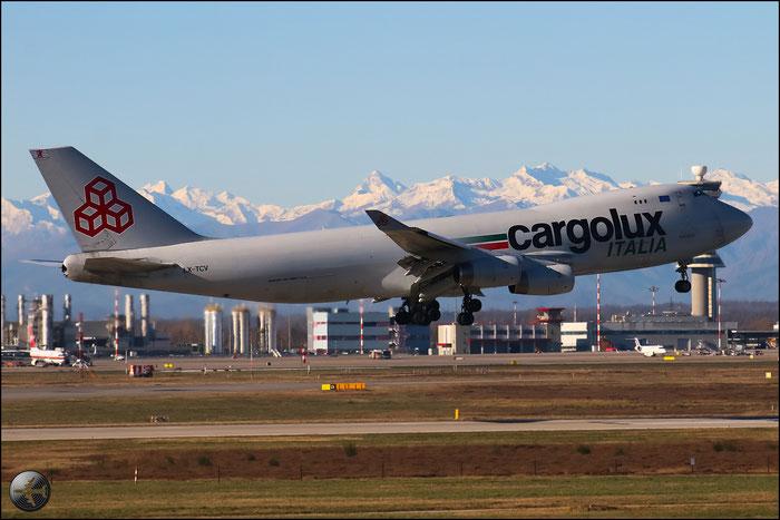 LX-TCV B747-4R7F 30401/1311 Cargolux Italia @ Milano Malpensa Airport 31.01.2015 © Piti Spotter Club Verona