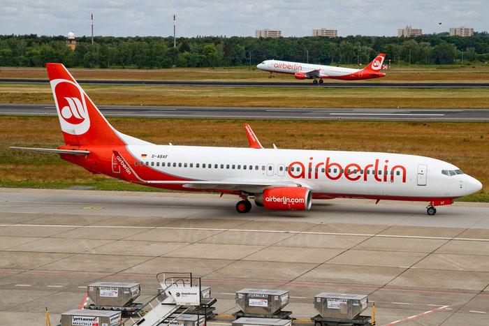 D-ABAF B737-4Y0 26081/2442 Air Berlin @ Berlin Tegel Airport 06.2012 © Piti Spotter Club Verona