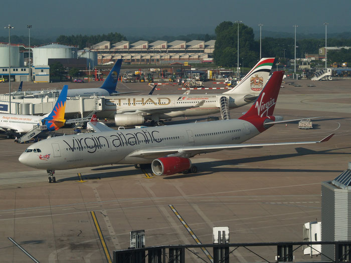 G-VKSS A330-343E 1201 Virgin Atlantic Airways @ Manchester Airport 21.07.2012 © Piti Spotter Club Verona