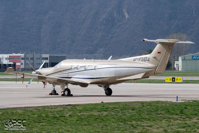 D-FUDA PC-12/47E 1016 @ Aeroporto di Bolzano © Piti Spotter Club Verona