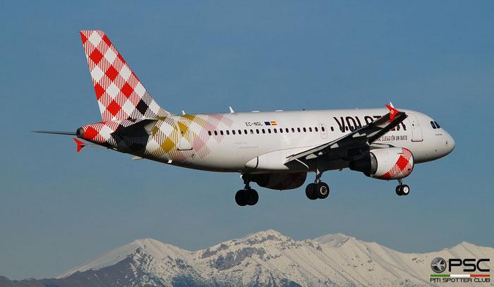 EC-NGL A319-112 2879 Volotea Air @ Aeroporto di Verona 12.2019  © Piti Spotter Club Verona