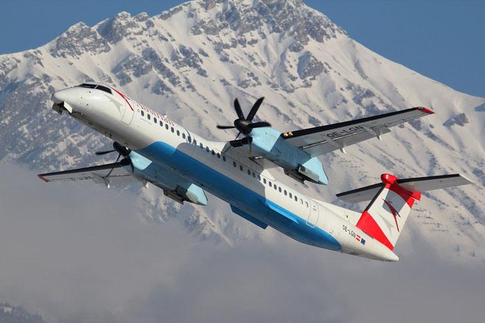 OE-LGN DHC-8-402 4326 Austrian Airlines @ Aeroporto di Verona 26.01.2013 © Piti Spotter Club Verona