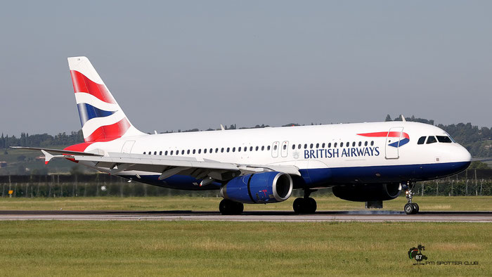 G-EUUN  A320-232  1910  British Airways  @ Aeroporto di Verona 09.2020  © Piti Spotter Club Verona