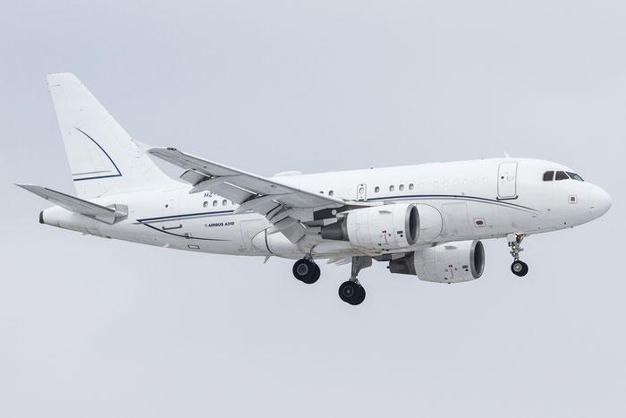 HZ-A5 A318-112 (ACJ) 2910 Alpha Star Aviation Services @ Zurich Airport 20.01.2016 © Piti Spotter Club Verona