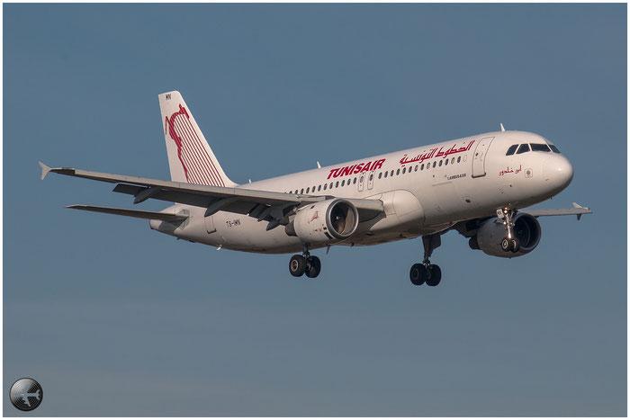 TS-IMN A320-211 1187 Tunisair @ Bologna Airport 02.01.2015 © Piti Spotter Club Verona