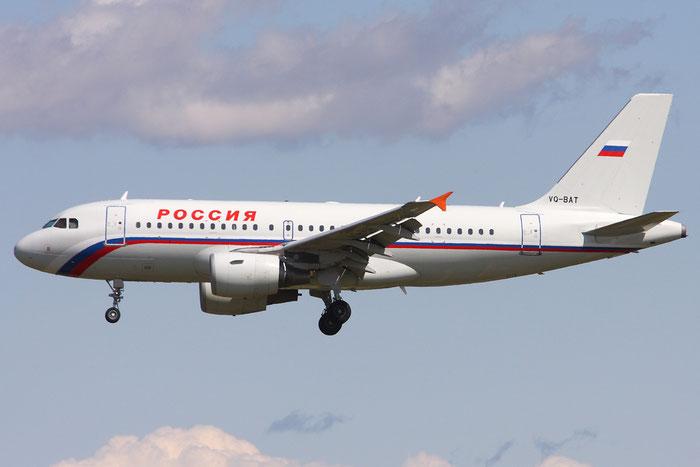 VQ-BAT A319-112 1876 Rossiya - Russian Airlines @ Munich Airport 05.2009 © Piti Spotter Club Verona