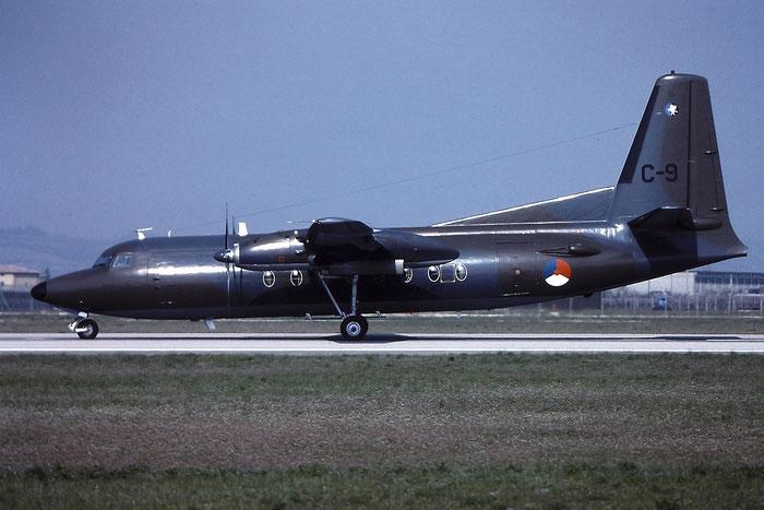 C-9   F27-300M  10159 @ Aeroporto di Verona   © Piti Spotter Club Verona