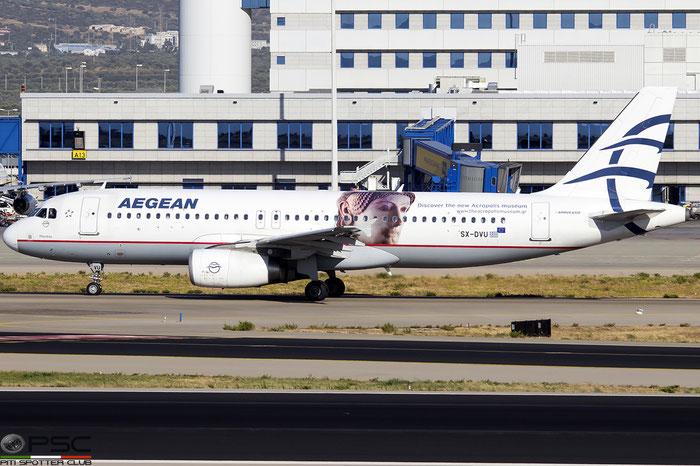 SX-DVU  A320-232  3753  Aegean Airlines @ Athens 2019 © Piti Spotter Club Verona
