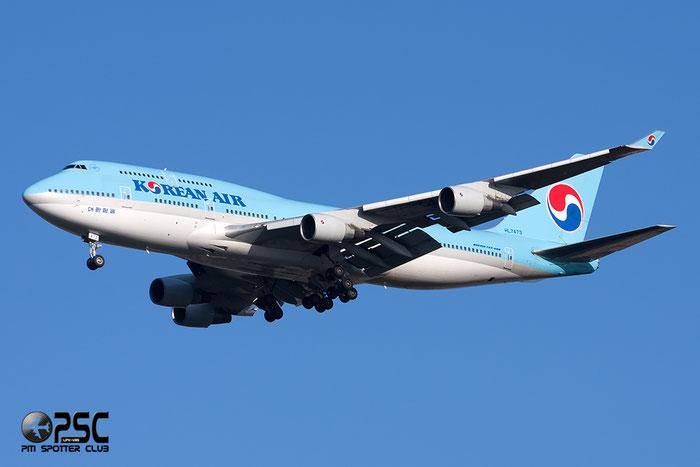 HL7473 B747-4B5 28335/1098 Korean Air @ Milano Malpensa Airport 06.04.2014 © Piti Spotter Club Verona